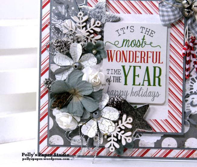It's the Most Wonderful Time of the Year Greeting Card Polly's Paper Studio 03