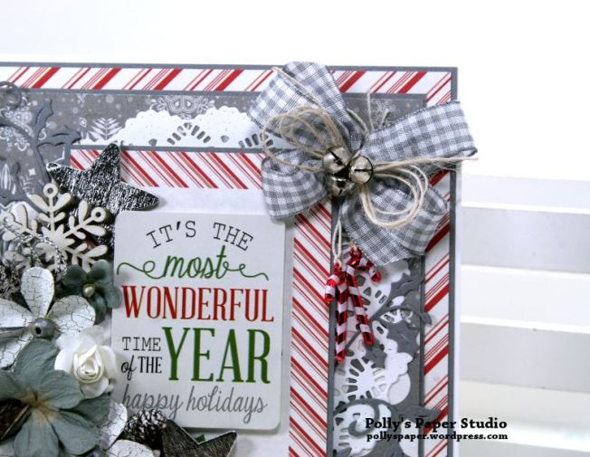 It's the Most Wonderful Time of the Year Greeting Card Polly's Paper Studio 04