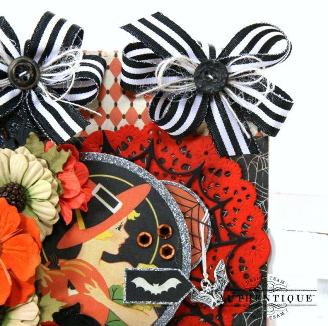 Nightfall Halloween Wall Hanging Polly's Paper Studio 04