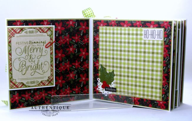 Nostalgic Mini Scrapbook Album Polly's Paper Studio 03
