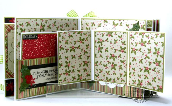 Nostalgic Mini Scrapbook Album Polly's Paper Studio 06