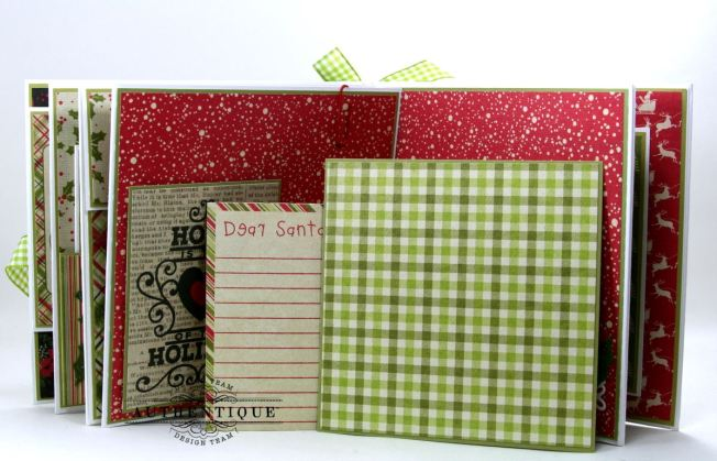 Nostalgic Mini Scrapbook Album Polly's Paper Studio 10