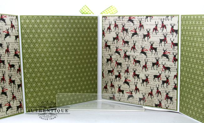 Nostalgic Mini Scrapbook Album Polly's Paper Studio 11