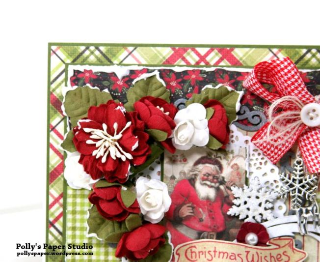 Nostalgic Winter Wishes Greeting Card Polly's Paper Studio 04