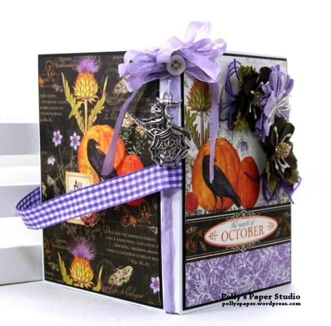 October Halloween Flip Book Polly's Paper Studio 02