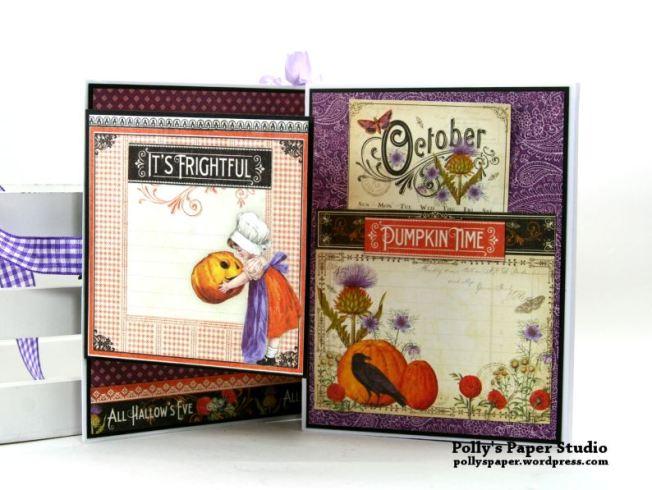 October Halloween Flip Book Polly's Paper Studio 03