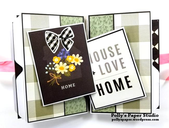 Love Grows Here Folder Mini Album Polly's Paper Studio 05