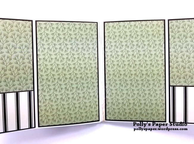 Love Grows Here Folder Mini Album Polly's Paper Studio 06