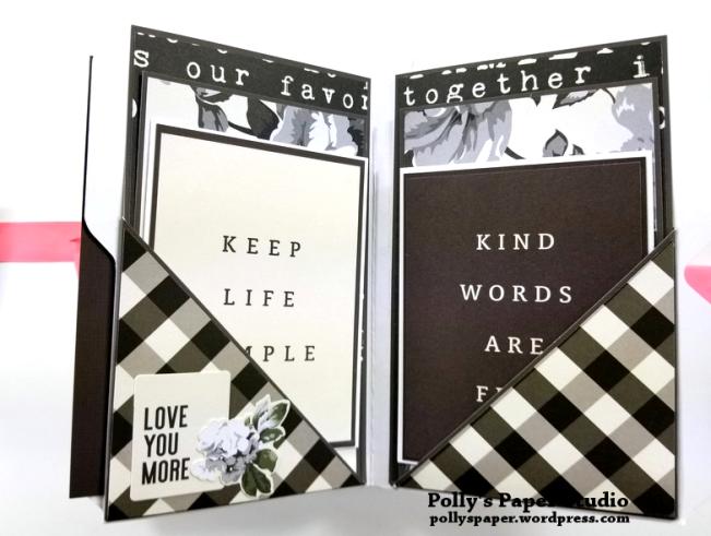 Love Grows Here Folder Mini Album Polly's Paper Studio 07