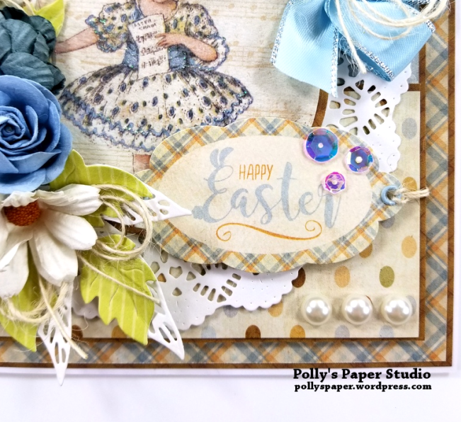 Happy Easter Greeting Card Polly's Paper Studio (J) 06
