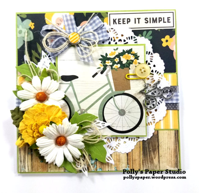 Keep It Simple Greeting Card Polly's Paper Studio 01