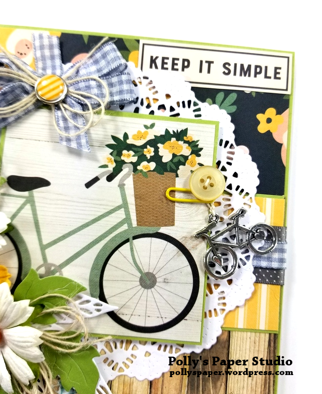 Keep It Simple Greeting Card Polly's Paper Studio 05