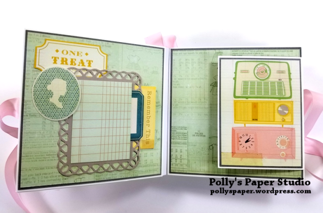 Precious Scrapbook Mini Album Polly's Paper Studio 03