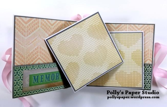 Precious Scrapbook Mini Album Polly's Paper Studio 05