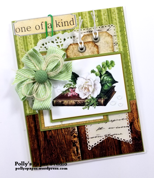 One of a Kind Greeting Card Polly's Paper Studio 03