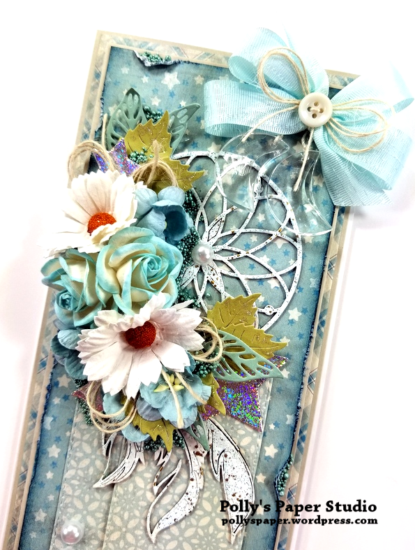 Dream Catcher Greeting Card Polly's Paper Studio 02