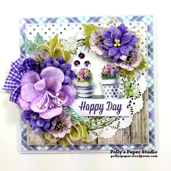Happy Day Greeting Card Polly's Paper Studio 01