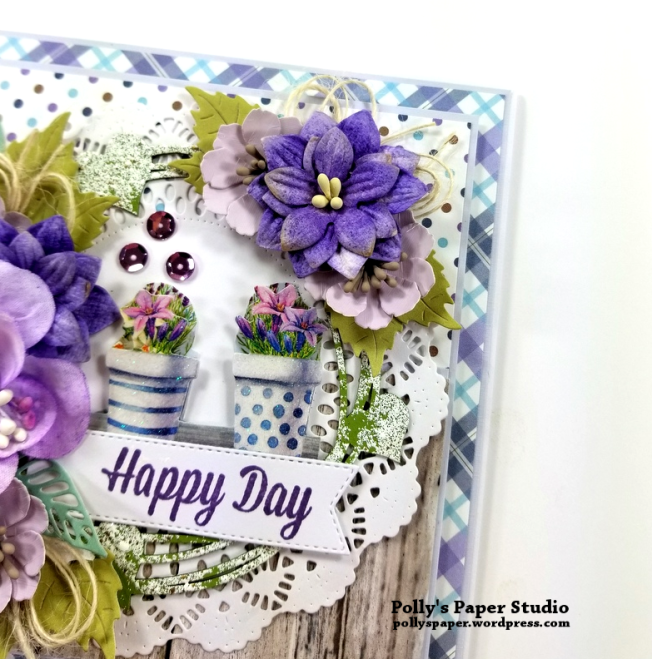 Happy Day Greeting Card Polly's Paper Studio 05