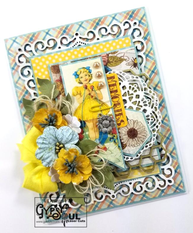 Memories Greeting Card Polly's Paper Studio 03