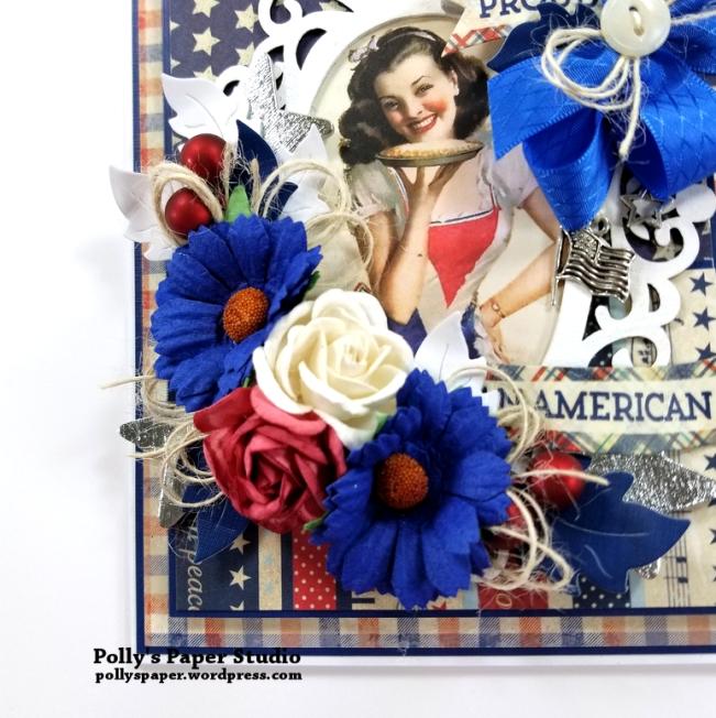 Proud American Patriotic Greeting Card Polly's Paper Studio 04