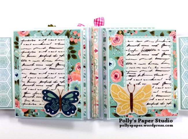 Vintage Bicycle Mini Album Polly's Paper Studio 03