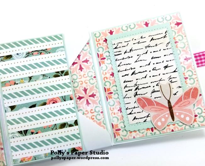 Vintage Bicycle Mini Album Polly's Paper Studio 05