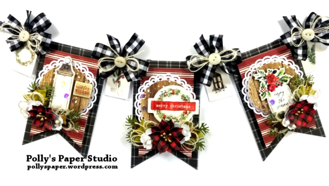 Merry Christmas Banner Polly's Paper Studio 04