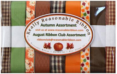 August Ribbon Club Assortment