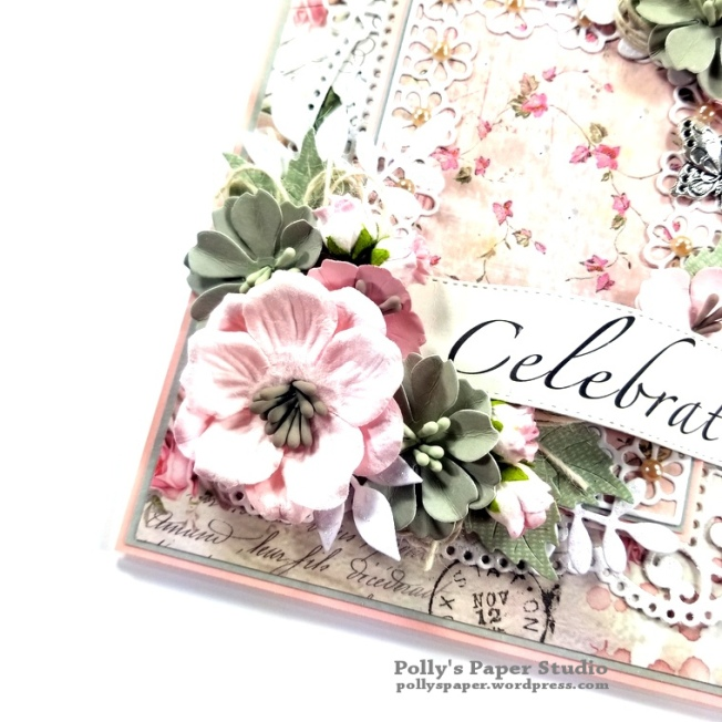 Celebrate Card Spellbinders Amazing Paper Grace Die Polly's Paper Studio 04