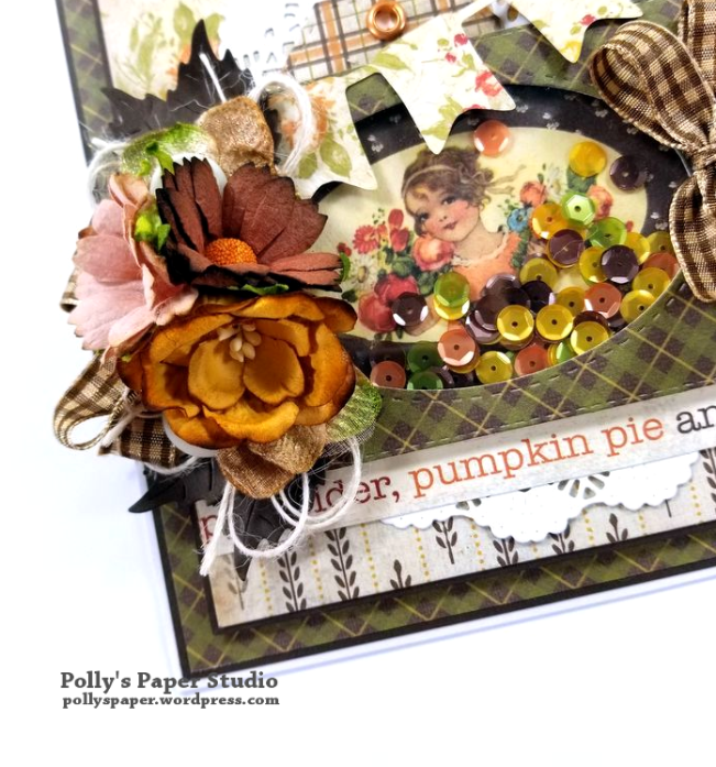 Fall Greeting Card Polly's Paper Studio 04