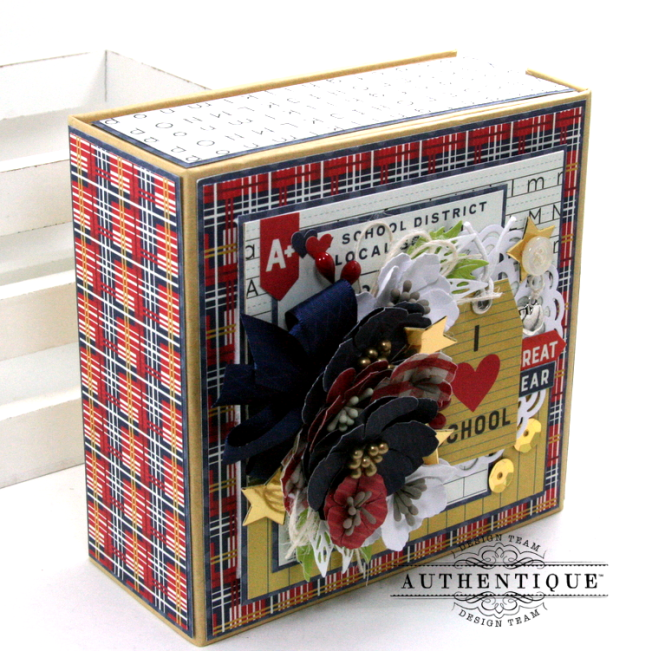 I love School Mini Album & Decor Box Polly's Paper Studio 03