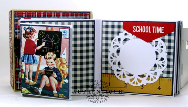I love School Mini Album & Decor Box Polly's Paper Studio 05