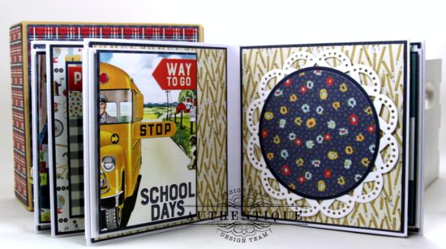 I love School Mini Album & Decor Box Polly's Paper Studio 07