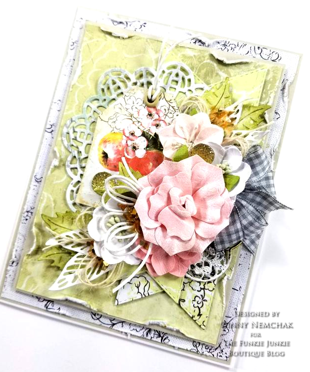 Prima Fruit Paradise A4 Paper Pad Ripe Berry Flowers Citrus Twist Flowers Ice Resin Cabochon 01