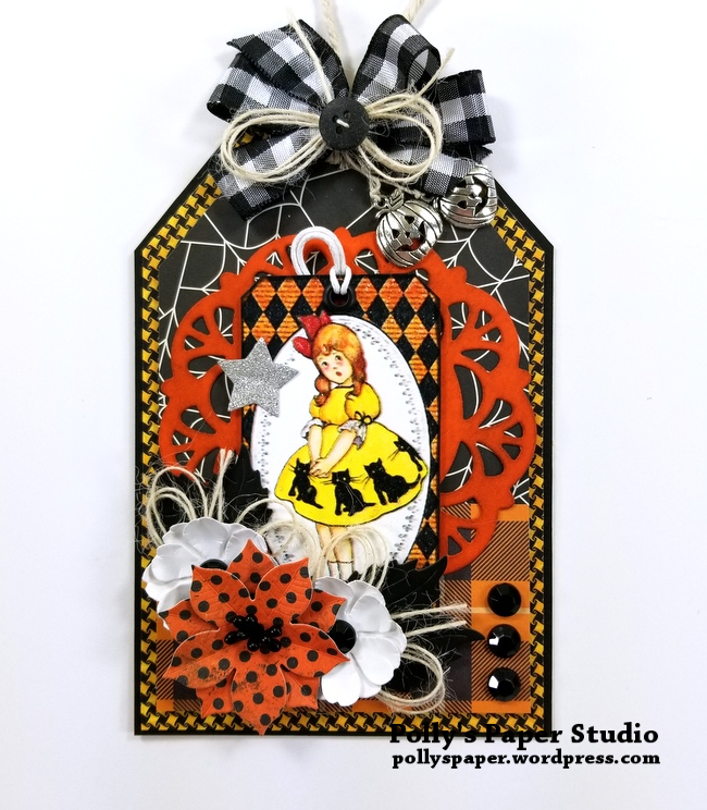 Halloween Layered Tag 2 Polly's Paper Studio 01