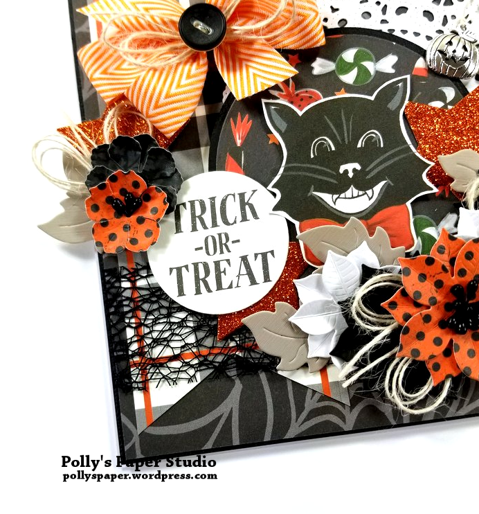 Trick or Treat Halloween Greeting Card Polly's Paper Studio 04