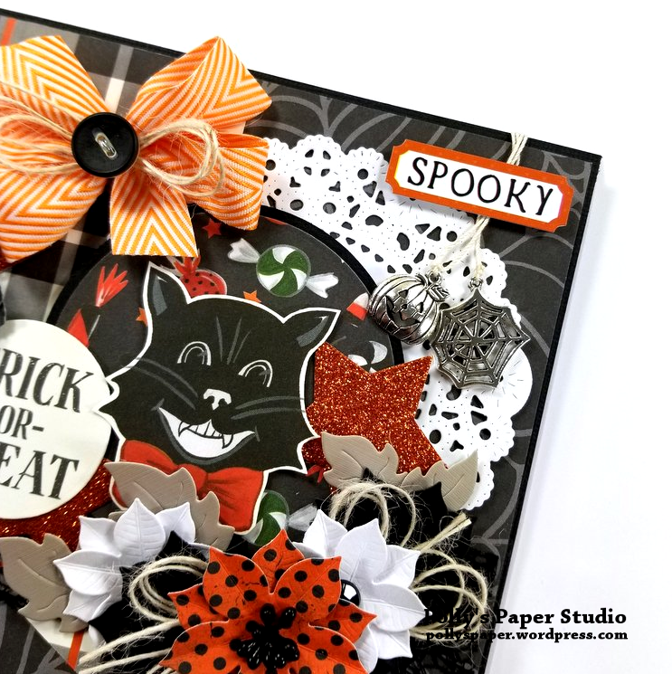 Trick or Treat Halloween Greeting Card Polly's Paper Studio 05