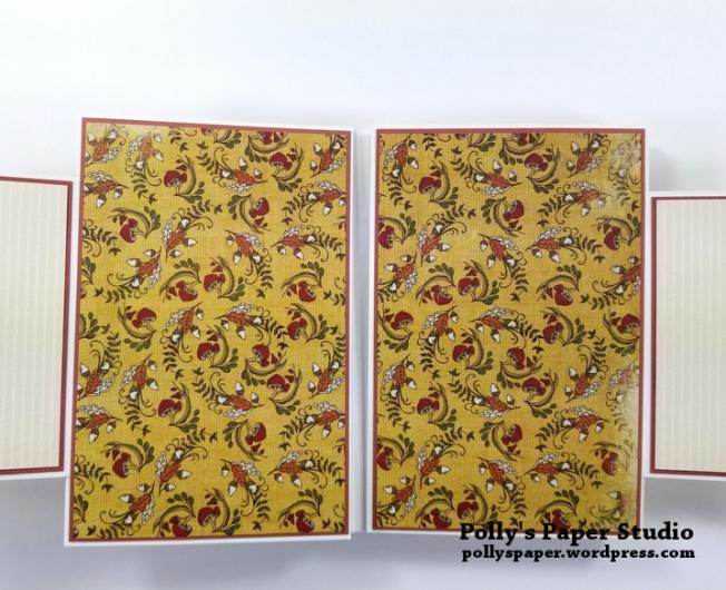 Give Thanks Mini Album Scrapbook Polly's Paper Studio 04