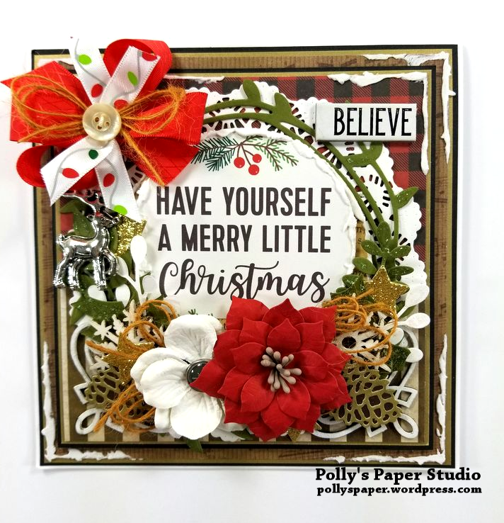 Have Yourself a Merry Little Christmas Polly's Paper Studio 01