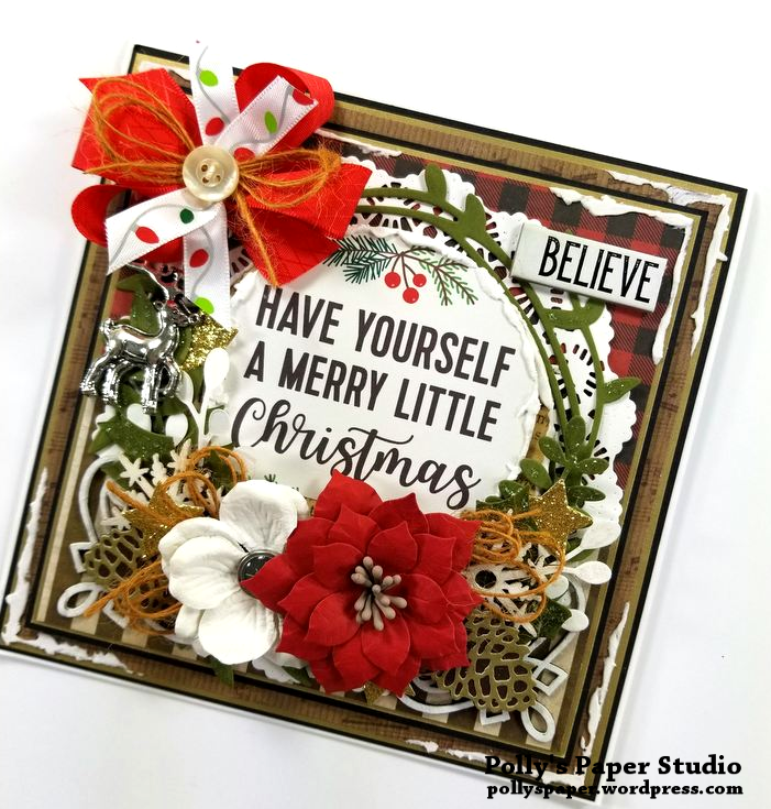 Have Yourself a Merry Little Christmas Polly's Paper Studio 02