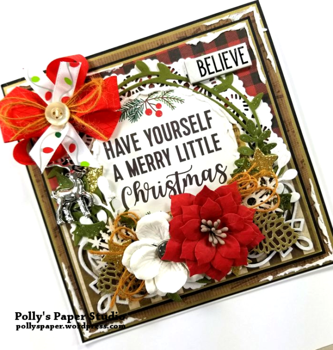Have Yourself a Merry Little Christmas Polly's Paper Studio 03