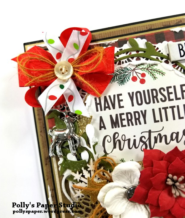 Have Yourself a Merry Little Christmas Polly's Paper Studio 05