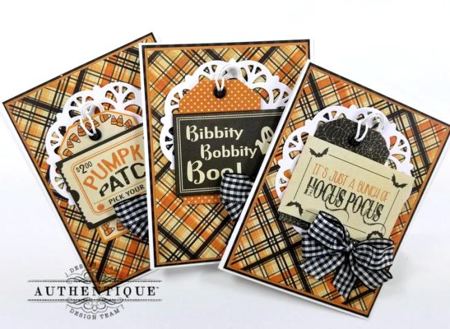 October Calendar Greeting Cards Polly's Paper Studio 02