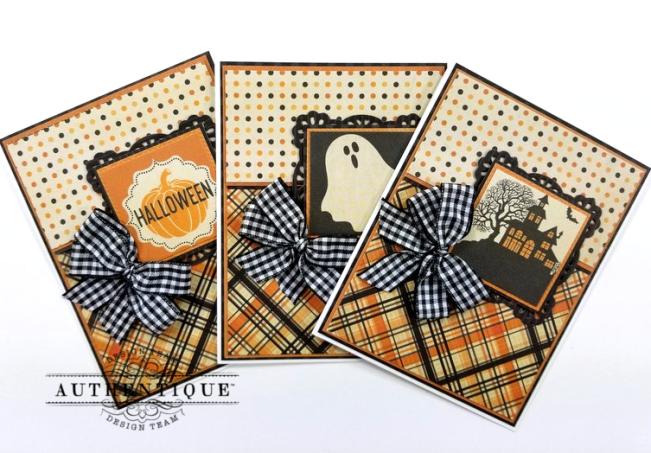 October Calendar Greeting Cards Polly's Paper Studio 03