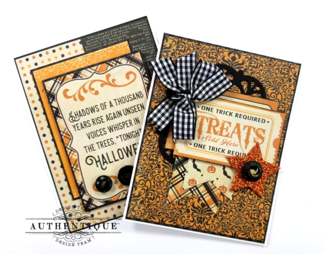 October Calendar Greeting Cards Polly's Paper Studio 05