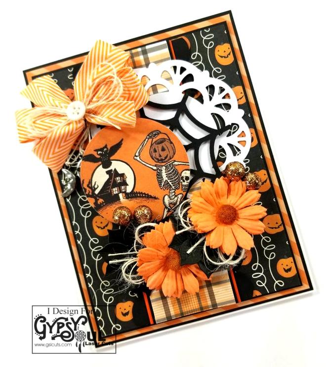 Spiderweb Greeting Card Polly's Paper Studi 03