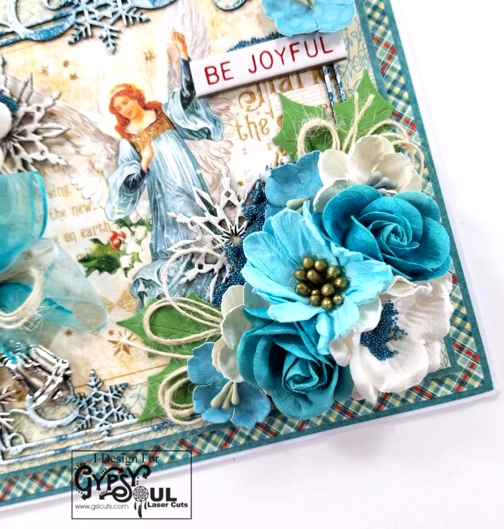 Be Joyful Christmas Greeting Card Polly's Paper Studio 04