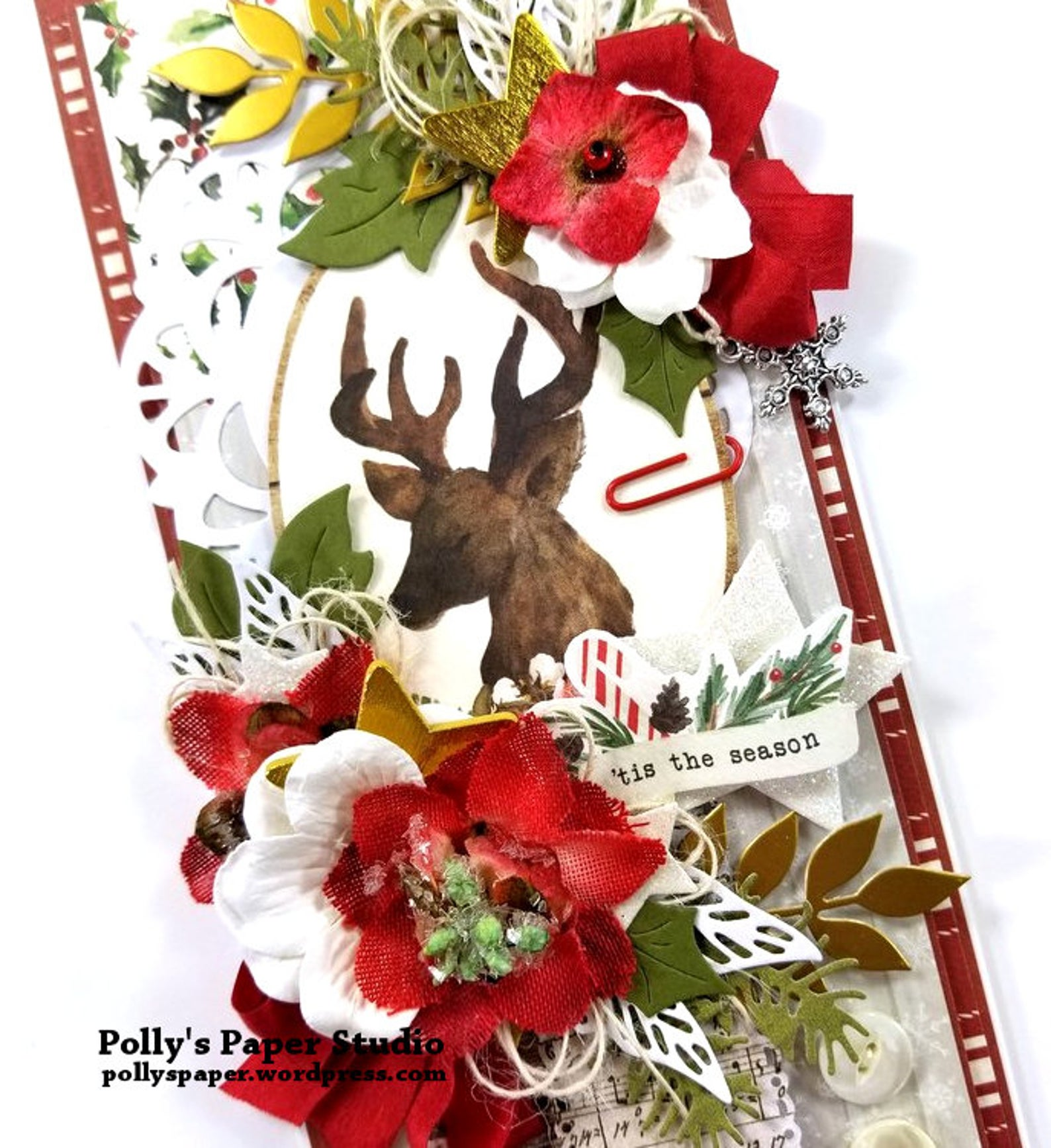 Christmas Memories Greeting Card Polly's Paper Studio 01