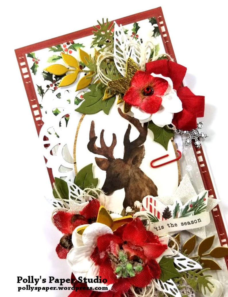 Christmas Memories Greeting Card Polly's Paper Studio 02