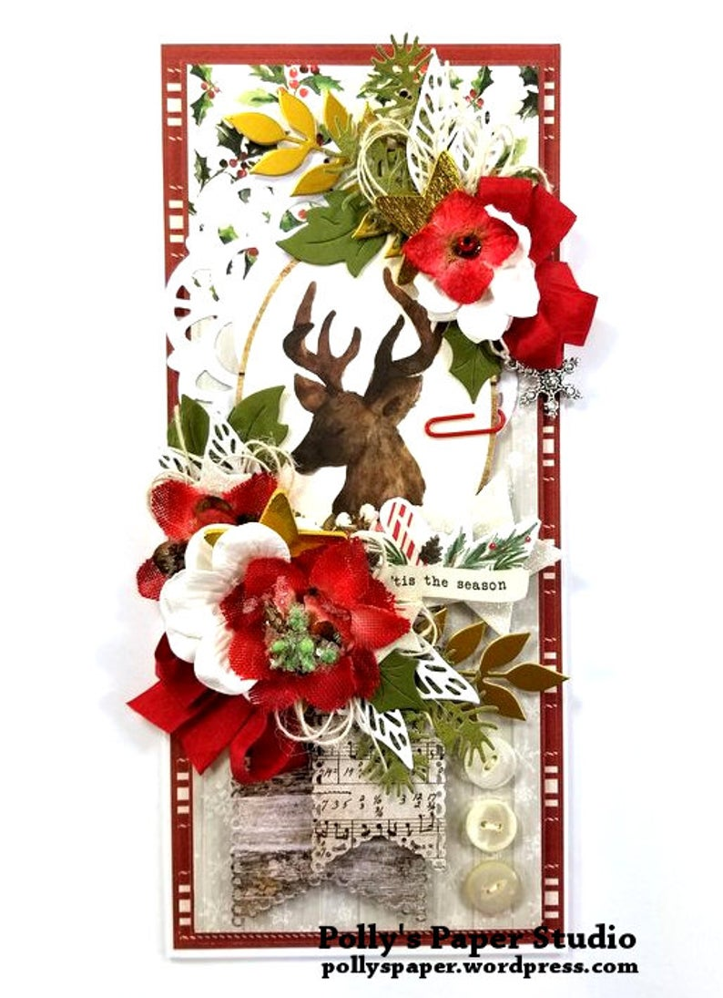 Christmas Memories Greeting Card Polly's Paper Studio 03